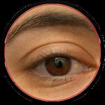 eyelids-circle-bw