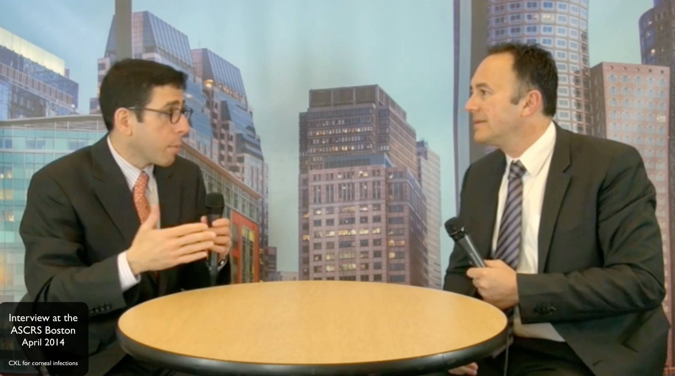 Video Interview on PACK-CXL at the ASCRS 2014 in Boston