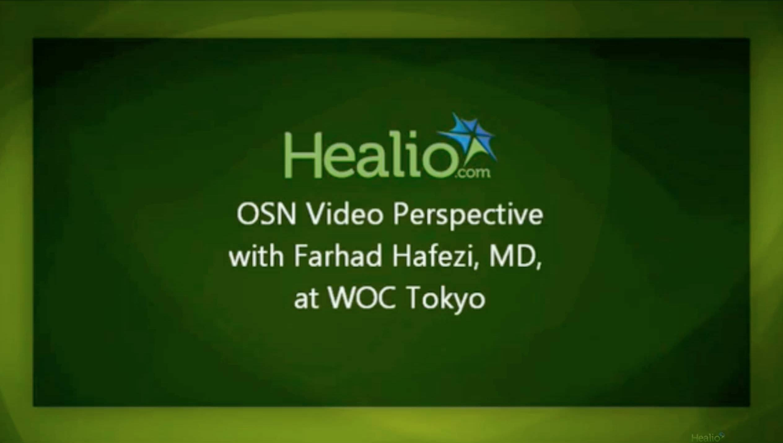 Video Interview on corneal infections at WOC Tokyo 2014