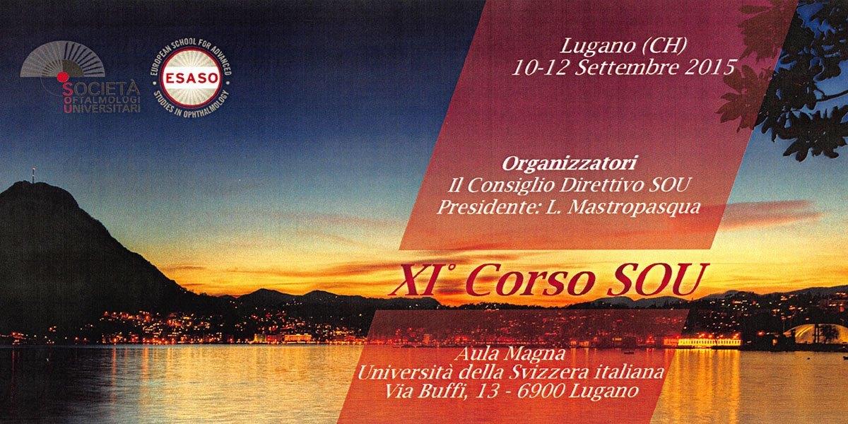 2015 ESASO Meeting Lugano