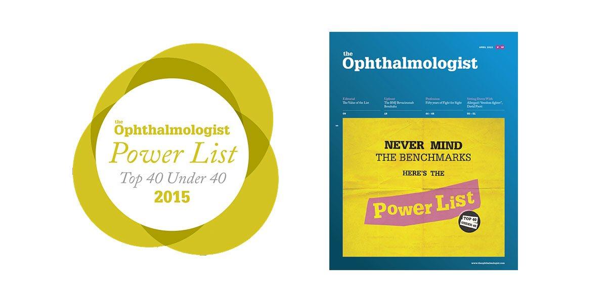 "April 2015: Nikki Hafezi on the global ""Top 40 under 40"" list"