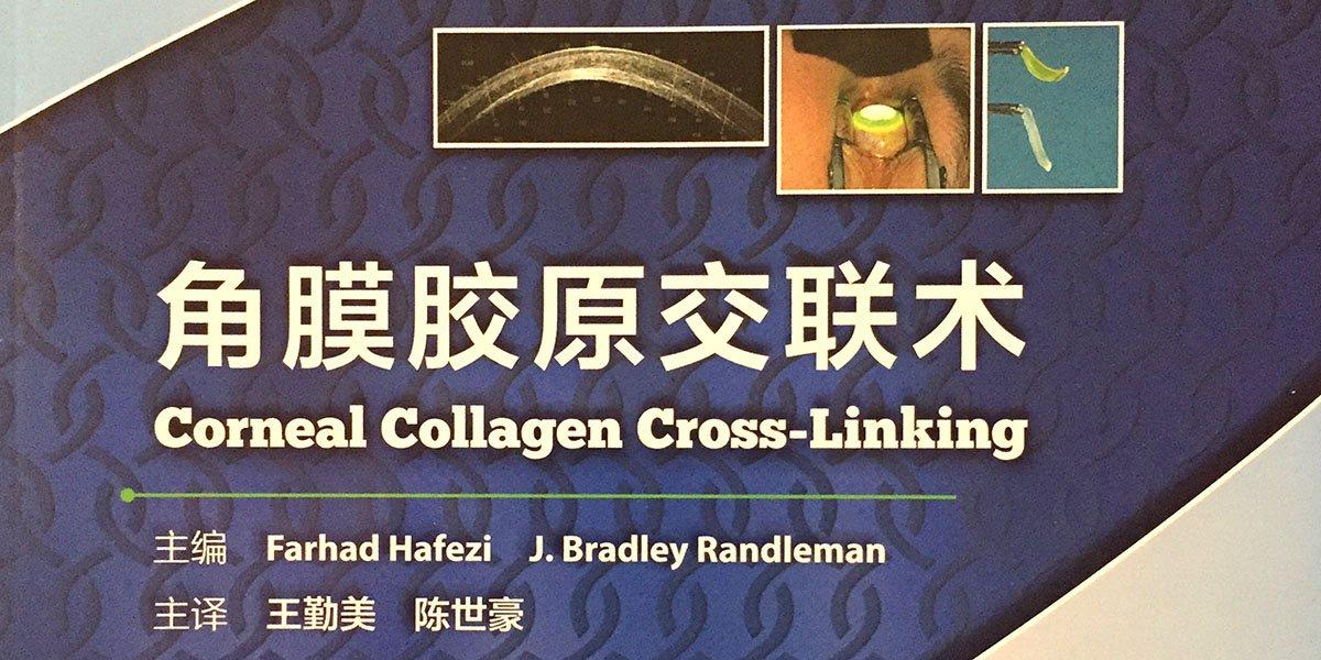 Chinese translation of the Hafezi/Randleman Cross-Linking textbook