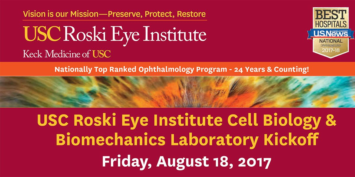 New Research Laboratory for Ocular Cell Biology and Biomechanics