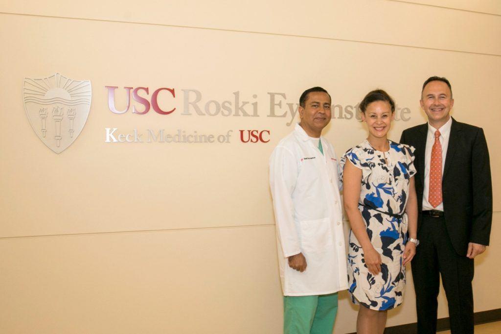 USC Roski Eye Institute Cell Biology & Biomechanics Laboratory Inauguration.
