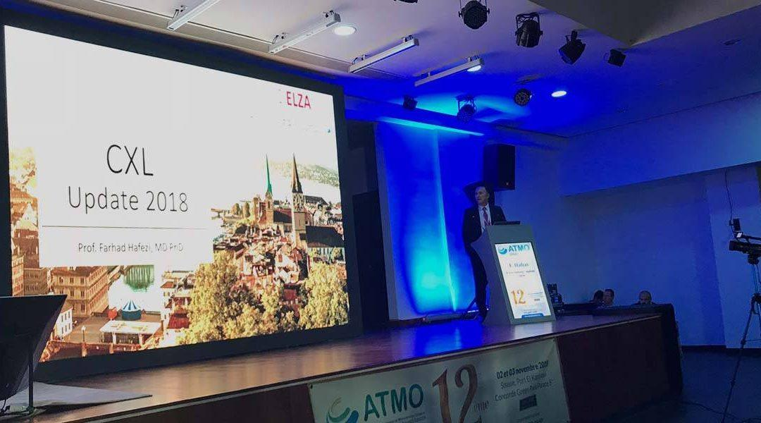 ELZA at the 2018 ATMO Eye Meeting in Tunisia