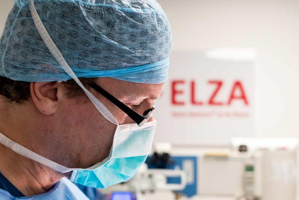 Dion Paridaens Operating in ELZA